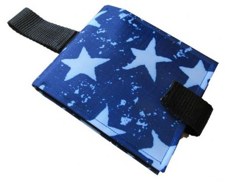 Portable Communication Book - Blue Stars